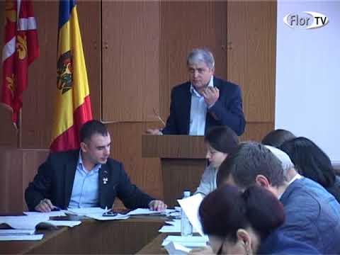 Ședința ordinară a Consiliului orașenesc Florești din 19 10 2017