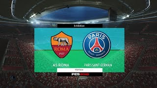 As Roma vs PSG - International Champions Cup 2017 Gameplay Simulated #PES2017 #2017ICCSubscribe : https://goo.gl/hOkuyhTwitter : https://twitter.com/LionelPesG+ : https://goo.gl/Bz7FAmPatch : SS Patch Scoreboard : PES 2018 by aziz17 https://goo.gl/d9qAGGAdboard : PES 2018 by Abid Nabawi https://goo.gl/okOQzOKits : Kits Pack 2017/18 HD V3 by Geo_Craig90  https://goo.gl/QUEd8vPES 2017 Fantasy Gameplay/Penalty Shootout : https://goo.gl/gPYg18PES 2017 All Star Gameplay/Penalty Shootout : https://goo.gl/PKXzD8