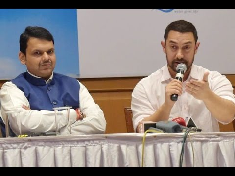 Aamir Khan Partners With maharashtra Prime Minister To Solve Water Crisis