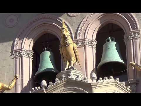 il campanile del duomo di messina - spettacolo delle ore 12