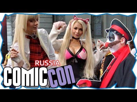 Comic con russia 2016. Лучшие моменты ИгроМира