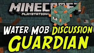 Minecraft PS4/PS3/Xbox - Water Mob Guardian - New Feature Discussion!