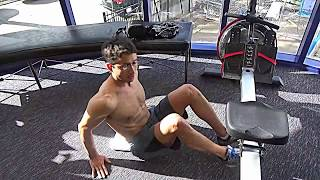 "A quick WaterRower metabolic fat-burning workout that can be incorporated as a fire-starter to your workouts, in the middle of a workout or a  ""Fat-loss finisher!"""