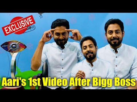 இது உங்களோட வெற்றி   Aari's 1st Video After Bigg Boss   Backstage Exclusive