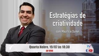 """No dia 19/07/2017, não perca a transmissão ao vivo da palestra """"Estratégias de criatividade"""".http://tv.crecisp.gov.br"""