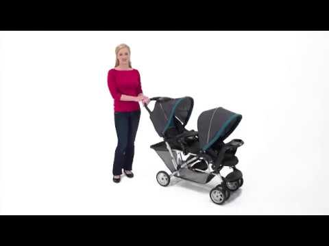 Graco DuoGlider Classic Connect Stroller Dragonfly Review  2017