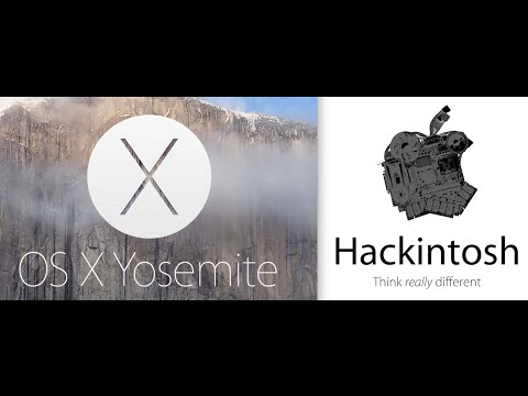 Yosemite OSX 10.10 Hackintosh Intel Core i7 4790K GA Z87 D3HP Motherboard