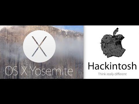 Yosemite OSX 10.10 Hackintosh Intel Core i7 4790K GA Z87 D3HP Motherboard