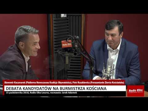 Wideo1: Debata kandydatów na burmistrza Kościana