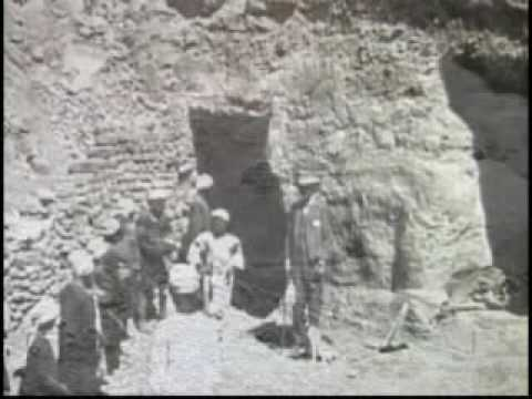 First hand description of the discovery of the Tomb of Tutankhamun