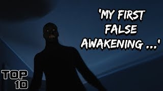 Video Top 10 Scary False Awakening Stories MP3, 3GP, MP4, WEBM, AVI, FLV Agustus 2019