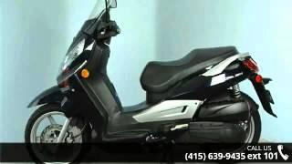 10. 2009 SYM Citycom 300i Only 4496 Miles! - SF Moto - San Fr...