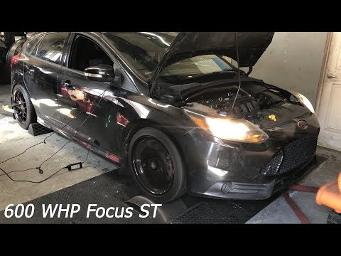 Tuning a 600 WHP Focus ST & AUX Fuel Explanation | PTE 5558 Turbo | Speed Perf6rmanc3 2.3L Stroker