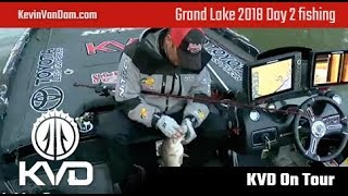 Grand Lake 2018 - day 2 fishing live - pt. 2