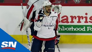 Alex Ovechkin Scores Three Times On Hurricanes For 22nd Career Hat Trick by Sportsnet Canada