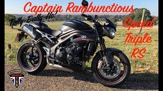 4. Speed Triple RS First Ride