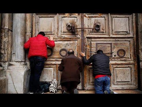 Ιερουσαλήμ: «Λουκέτο» στον Ναό της Αναστάσεως