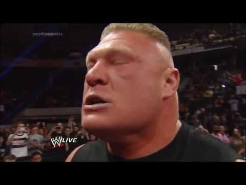 Brock Lesnar's Scream!