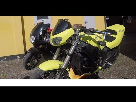 GOPRO Hero 5 / Yamaha FZR 1000 & Yamaha YZF 750 R ride