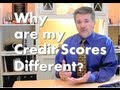 Why are my Credit Scores Different? FICO vs Vantage A Credit score by a different name
