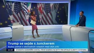 Donald Trump bude jednat s Jeanem-Claudem Junckerem