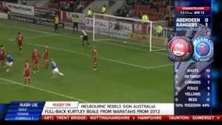 Jelavic´ wunderbarer Fallrückzieher gegen Aberdeen