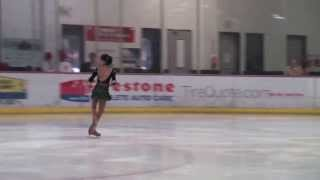 9 year old Katarina skates at the 2013 Houston Fall Invitational