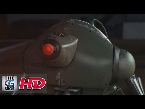 cgi - Check out this awesome CGI animated short film about something stalking, silent, watching its prey until the right moment to slaughter it. That´s the hunter, that´s what it was programmed...