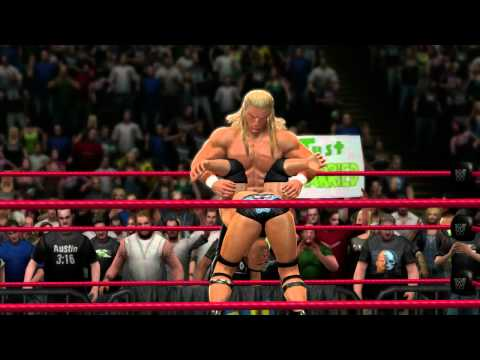 finisher - DX Triple H hits The Rock with the Pedigree in WWE '13. On sale October 30, 2012!