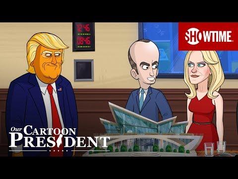 'Cartoon Trump Infiltrates Silicon Valley' Ep. 309 Clip   Our Cartoon President   SHOWTIME