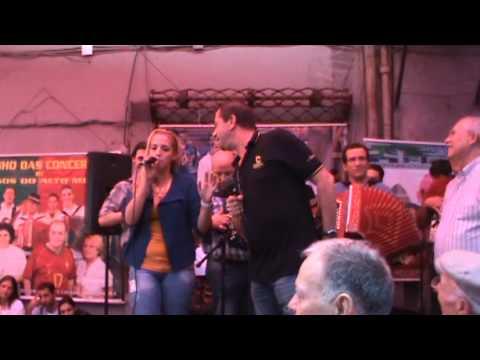 Amigos do Alto Minho e Augusto Canario no Cantinho das concertinas - Cadeg - 2012