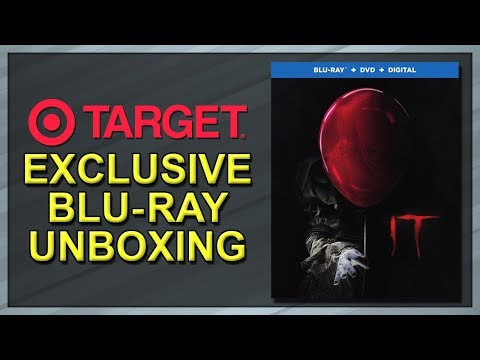 It (2017) Target Exclusive Lenticular Blu-ray Unboxing