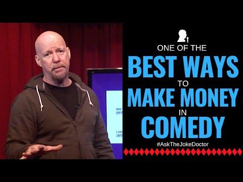 Best Ways to Make Money in Comedy