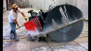 Precyzjne przycinanie betonu kozacką piłą!