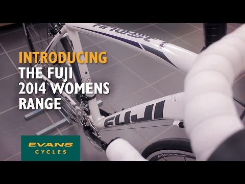 VIDEO: Fuji's female specific bikes