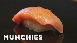 The Best Omakase in Greenwich Village: Sushi Chef with Daisuke Nakazawa by Munchies