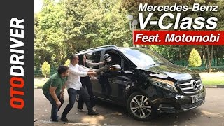 Video Mercedes-Benz V-Class 2017 Review Indonesia | OtoDriver | Feat. MOTOMOBI MP3, 3GP, MP4, WEBM, AVI, FLV Februari 2018