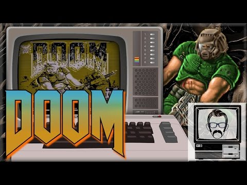 DOOM on the Commodore 64!! [Quick Play] | Nostalgia Nerd
