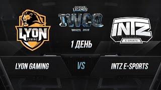 Lyon vs INTZ, game 1