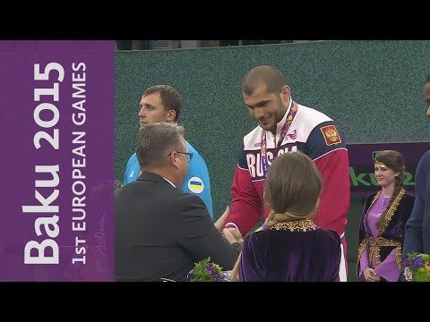 Ислам Магмоедов - победитель европейских игрв 2015 года
