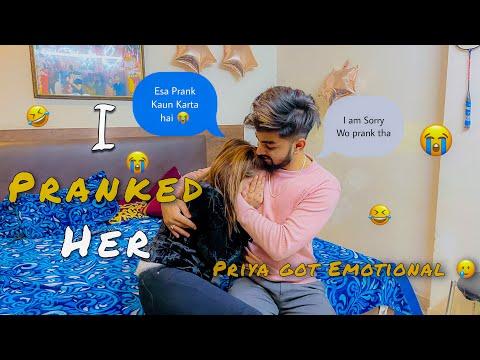I PRANKED priya 🤣| she got EMOTIONAL 😢 | Mr & Mrs Singhania
