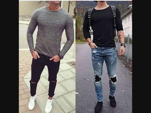 T-Shirts stylé à manches longues pour homme