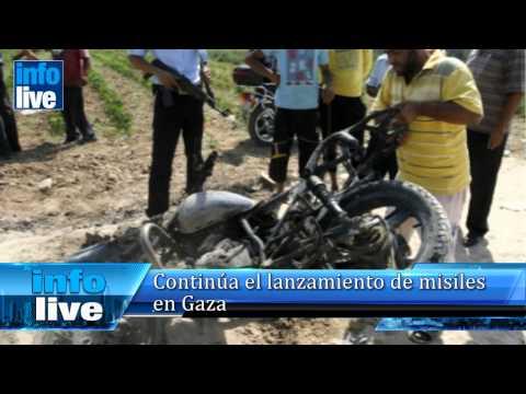 Continúa el lanzamiento de misiles en Gaza