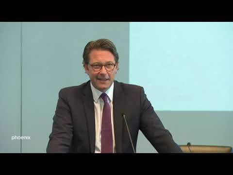 Maut: Bundesverkehrsminister Scheuer zum EuGH-Urteil