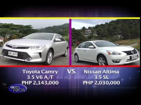 Captivating Nissan Altima Vs Toyota Camry