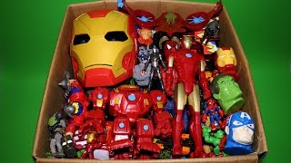 Video Box of Toys: Marvel Mashers, Cars, Iron Man & Spiderman Action Figures MP3, 3GP, MP4, WEBM, AVI, FLV September 2018