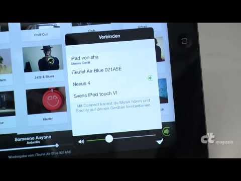Musik-Flatrates auf Geräte schicken: Spotify Connect & Chromecast