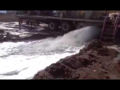 Blooper con el tubo de agua