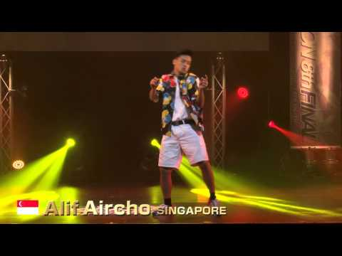 【GDC 8th】GATSBY DANCE COMPETITION 2015-2016:ASIA GRANDFINAL/Alif Aircho【SINGAPORE】
