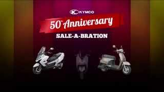7. KYMCO On Road 50th Anniversary Offer